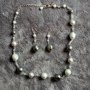 Lia Sophia necklace and earrings